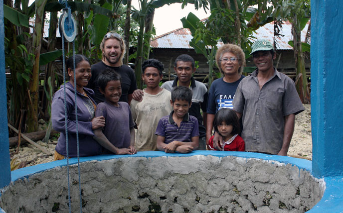 Well Project in Sumba